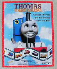 Vintage 2000 Thomas and the Magic Railroad Poster. ERTL; BRITT ALLCROFT Ltd 2000