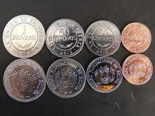 PIECES MONNAIES BOLIVIE BOLIVIA 4 pièces 10,20,50 CTS et 1 B 2012 NEUVE NEW UNC