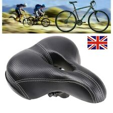 Oxford Contour Wide Touring Bicycle Cycle Bike Saddle Brown