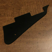 GUITAR PICKGUARD for LES PAUL Gibson or Epiphone - Solid 1 Ply - BLACK