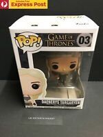 GAME OF THRONES DAENERYS TARGARYEN (RED / GREEN DRAGON) FUNKO POP! VINYL #03 NEW