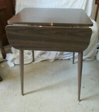 Retro Vintage Mid Century Formica Fold-Out Kitchenette Apartment Style Table