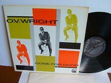 O.V. Wright - Gone For Good CRB 1050 UK LP 1st Press 1983 Charly