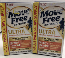 Schiff Move Free Ultra Whole Root Turmeric + Tamarind 60 Tablets EXP: 02/22