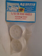 PARMA #17035 1/10 ON ROAD FRONT WHEELS NEW IN PACKAGE