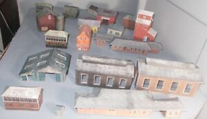 N SCALE TRAIN BUILDING LOT AS SHOWN