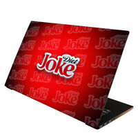 Laptop Folie  Aufkleber Schutzfolie für Notebook Skin Cover Diet Joke 13-17 Zoll