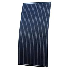 Black 160W Reinforced Flexible solar panel - ETFE coating & German solar cells