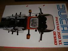 DUCATI PANTAH 350 XL desmo    (brochure-depliant -prospekt) ITA