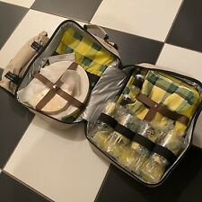 Large Renault Insulated Hamper Picnic Backpack Cooler Bag - Loads Of Accessories