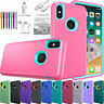 For Apple iPhone X XR XS Max 10 Case Protective Defender Shockproof Phone Cover