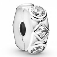 Fixed clips charm Geometric Shapes PANDORA Clip 925er Sterlingsilber 798463C01