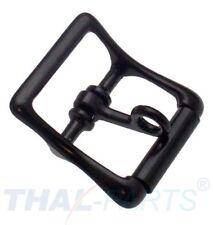 10 Stück Rollschnalle abschließbar 20mm Zinkdruckguss schwarz Rollschnallen