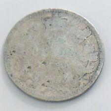 1888 Canada Ten 10 Cent Silver Dime Circulated Canadian Victoria Coin H971