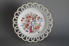 Rosenthal Selb Bavaria Asia Teller Zierteller Goldrand Ø 23,5 cm China