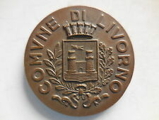 medaglia comune di Livorno