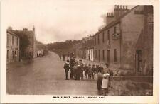 More details for barrhill near girvan. main street looking east by d.strain, barrhill.
