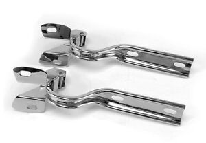 New! 1979-1993 Ford MUSTANG 304 Stainless Steel Hood Hinges Pair Polished Set 2