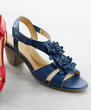 Leather Heels Casual Vintage Shoes for Women