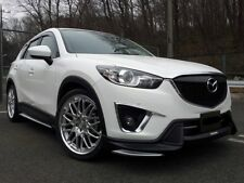 for mazda cx 5  aero body  kit front lip side skirts rear  painted  2011 - 2016