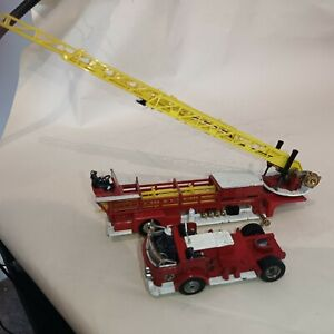 Corgi Major Toys 1143 American La France Aerial Rescue - Red unboxed made in GB
