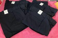 Lot Of 4 US Air Force Class B Utility Trousers Navy Blue M Waist 32x34 Uniform
