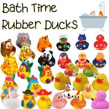 Clásico de Goma Patos-hora Del Baño Juguetes de Pato-Elige Tu Duckies caracteres