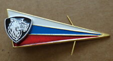 Russian    flag beret   wolf BADGE pin   # 91  sasa