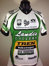 Voler Cycling Jersey Size Womens Med / Lg Landis Cyclery VW Trek Lutheran Heart
