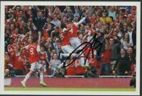 """ORIGINAL Alexander Lacazette Autographed Arsenal Signed 6"""" x 4""""photo"""