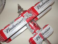Budweiser Beer Can Airplane - Handcrafted-Wind Spinner- Airplane - Can Art