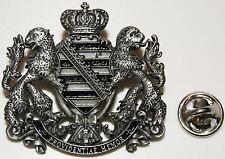 Königreich Sachsen Schild 1806 - 1918  l Anstecker l Abzeichen l Pin 281