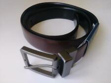 Mens Leather Reversible Belt Medium Kenneth Cole Brown Black