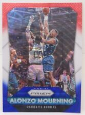 2015-16 Panini Prizm Alonzo Mourning Red White & Blue Prizm Refractor # 243