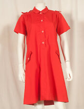 60'S FRENCH VINTAGE DRESS UK 12