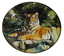 Royal Doulton Franklin Mint Collector Plate The Protector Weberbaler