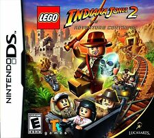 LEGO Indiana Jones 2: The Adventure Continues (Nintendo DS, 2009) Video Game