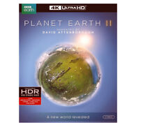 Planet Earth II (DVD, 2017, 3-Disc Set, 4K Ultra HD Blu-ray)