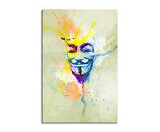 90x60cm Paul Sinus Splash tipo dipinto arte immagine Anonymous _ maschera Multicolore