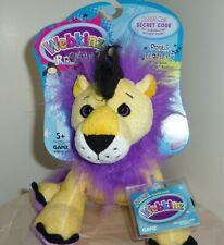 Lion Rock and Roar full size 8in Webkinz Rockerz with sealed unused code HM5103