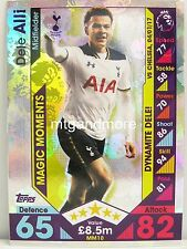 Match Attax 2016/17 Premier League -  MM10 Dele Alli - Magic Moments