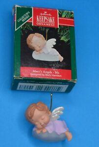 Hallmark Keepsake Ornament  IRIS - 4th in Mary's Angels Series  w/ org box