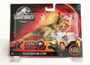 Jurassic World Dino Rivals Velociraptor Echo 7in. Figure New in Package