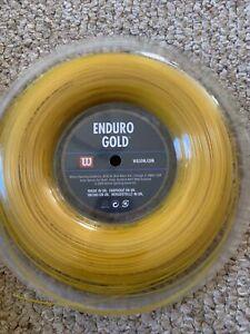 Wilson Enduro Gold 16G Tennis String Reel