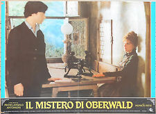 FOTOBUSTA 1, IL MISTERO DI OBERWALD, ANTONIONI, MONICA VITTI, COCTEAU, POSTER