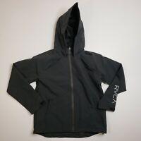 """RVCA """"VA Windbreaker"""" Jacket  Men's Small Hooded Weather Proof Windbreaker"""