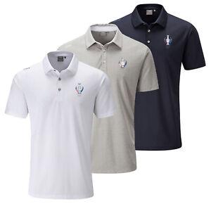 Ping Golf Polo Shirt Clearance - Men's - Solheim Cup Gleneagles Logo