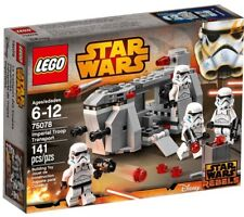 Lego Star Wars 75078 IMPERIAL TROOP TRANSPORT Stormtrooper Minifigures NISB