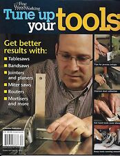 Fine Woodworking Tune Up Your Tools magazine Table saws Routers Planers Miter