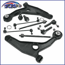 Dodge Avenger Chrysler 10x Suspension Kit Front Lower Control Arms Tie Rod Set